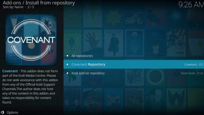 covenant repository