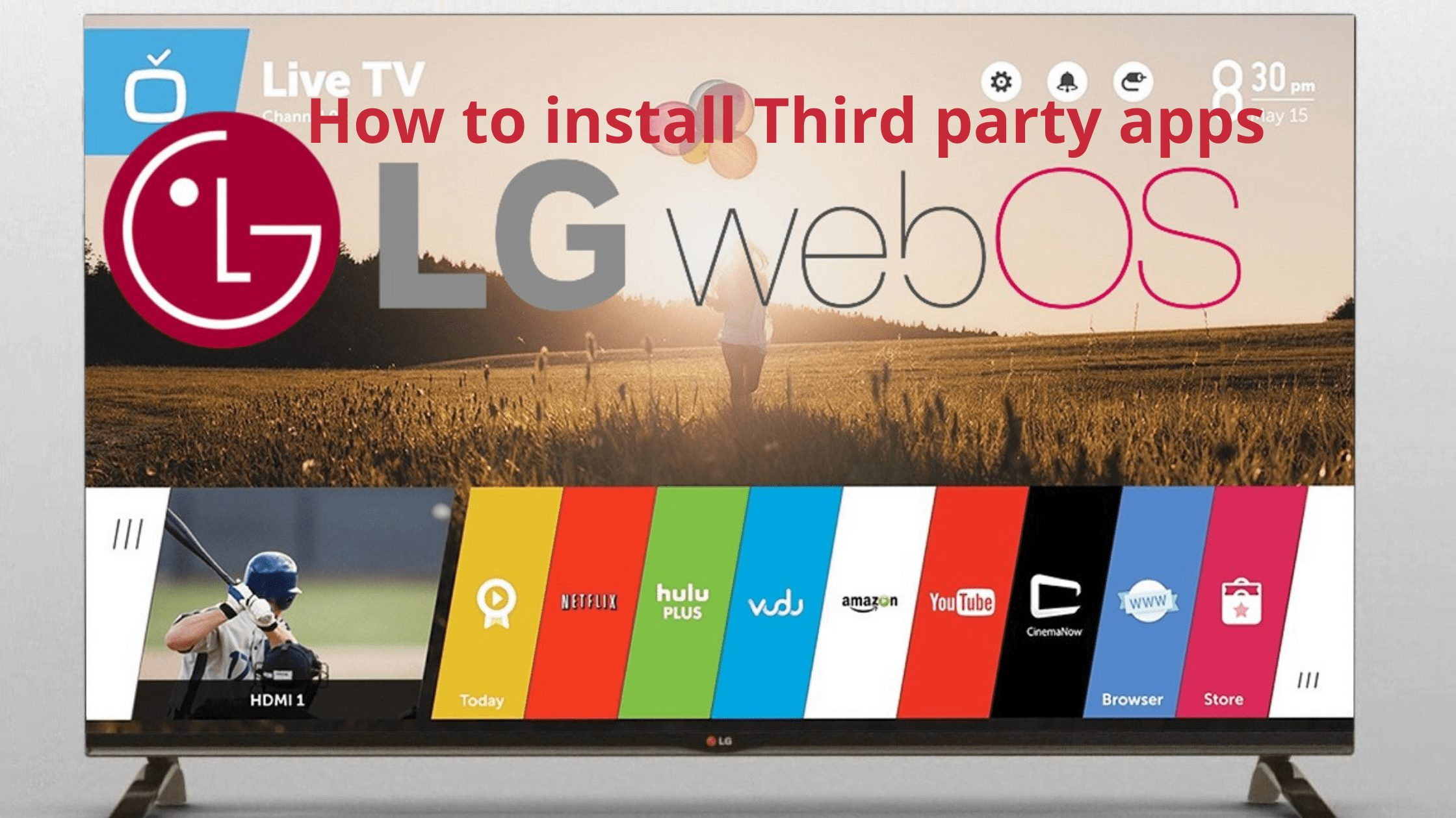 How to Install Third Party Apps on LG Smart TV - Apps For Smart Tv