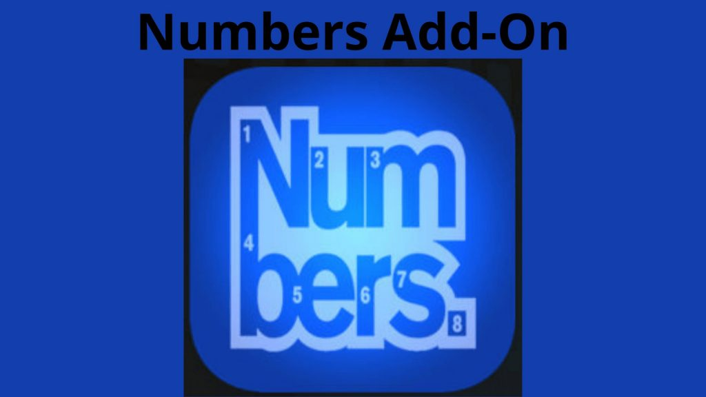 Numbers Add-On